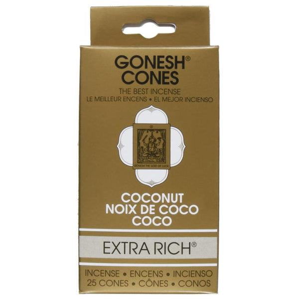 Gonesh - Coconut Extra Rich Incense Cones