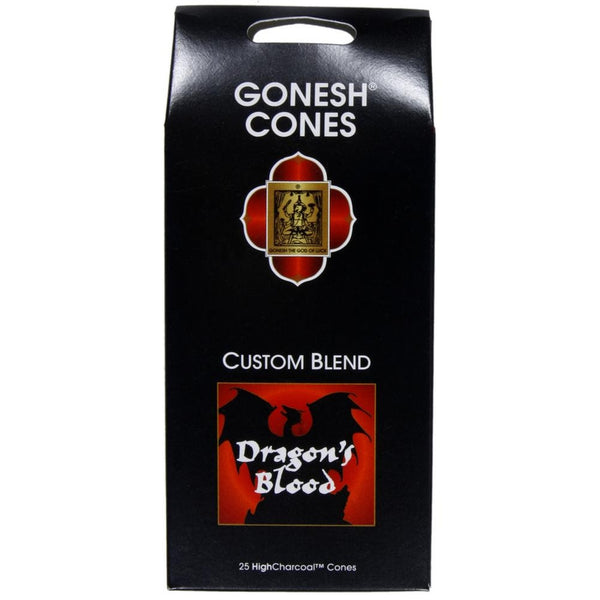 Gonesh - Dragons Blood Extra Rich Incense Cones