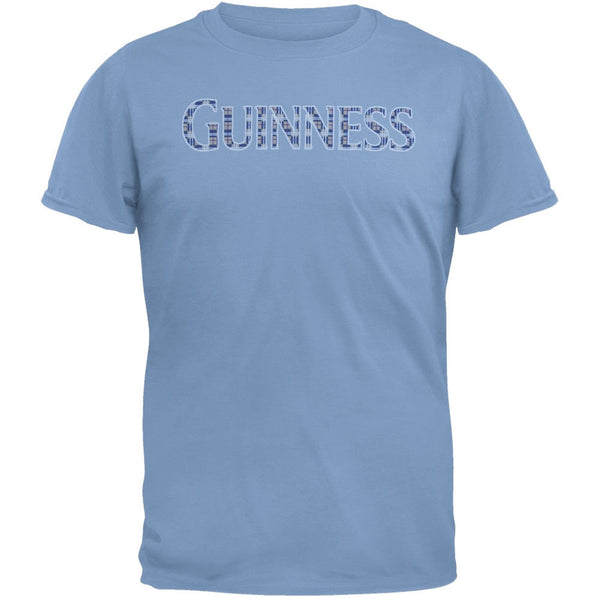Guinness - Blue Plaid Logo T-Shirt