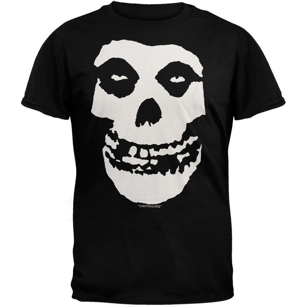 The Misfits - Classic Skull Black T-Shirt