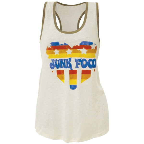 Junk Food - Heart Juniors Tank Top