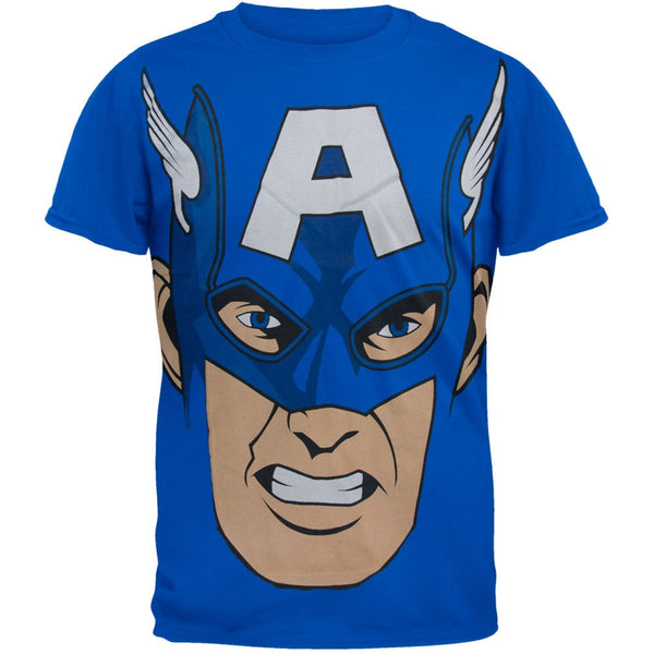 Captain America - Cappy Face Soft T-Shirt