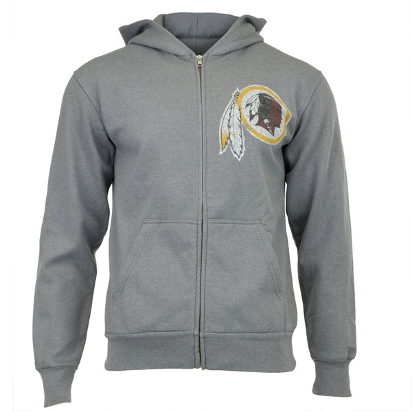 Washington Redskins - Vintage Logo Overdye Zip Hoodie