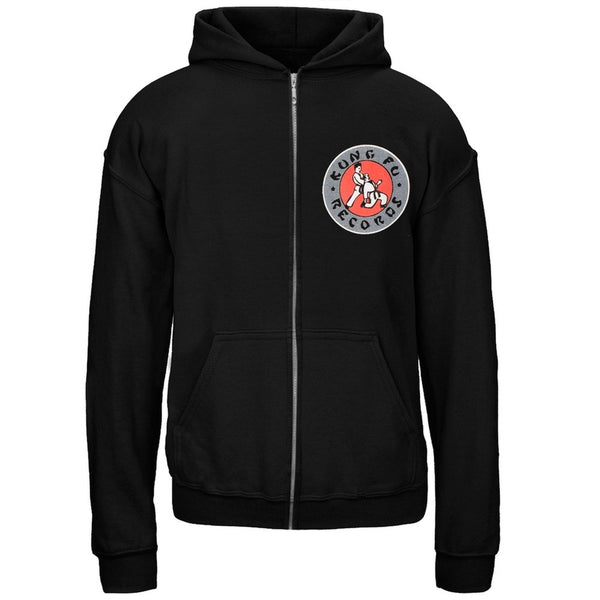 Kung Fu Records - Logo Youth Zip Hoodie