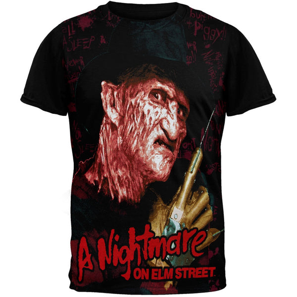 A Nightmare On Elm Street - Wall Subway T-Shirt
