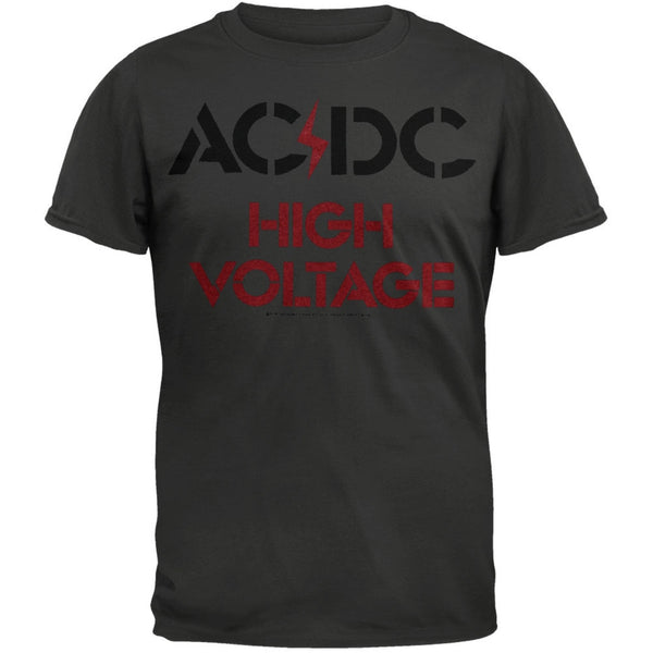AC/DC - High Voltage Logo T-Shirt