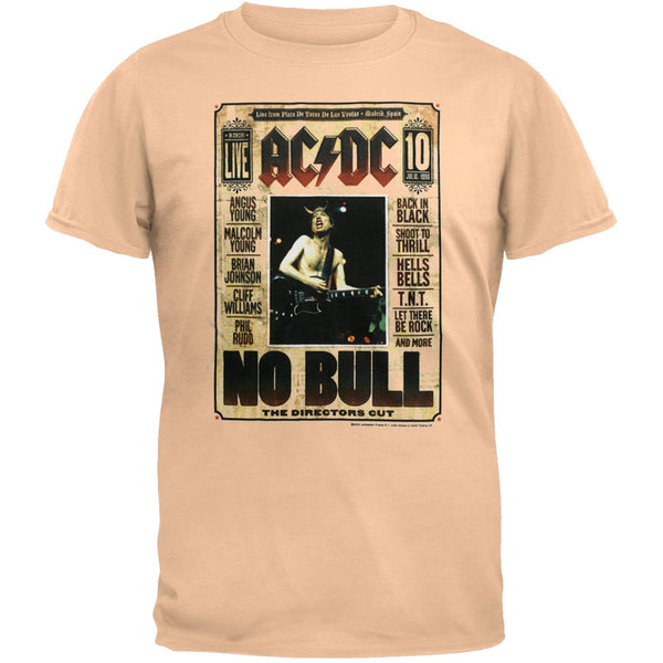 AC/DC - No Bull Tan T-Shirt