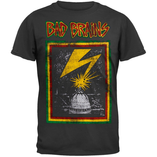 Bad Brains - Capitol Adult T-Shirt
