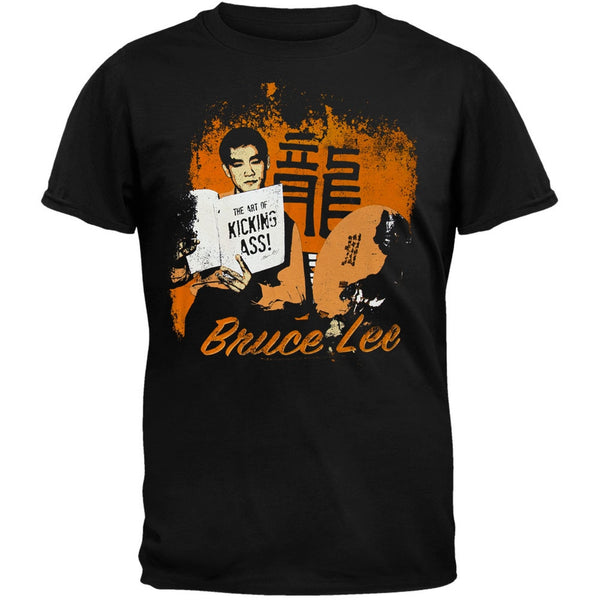 Bruce Lee - Kicking Ass Soft T-Shirt
