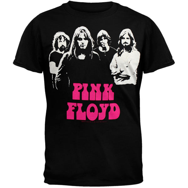 Pink Floyd - Hot Pink Name Soft T-Shirt