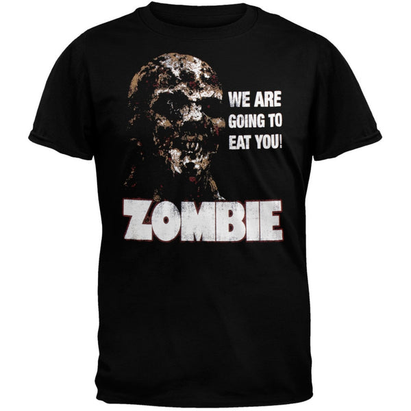 Zombie - We Are Going To Eat You Soft T-Shirt