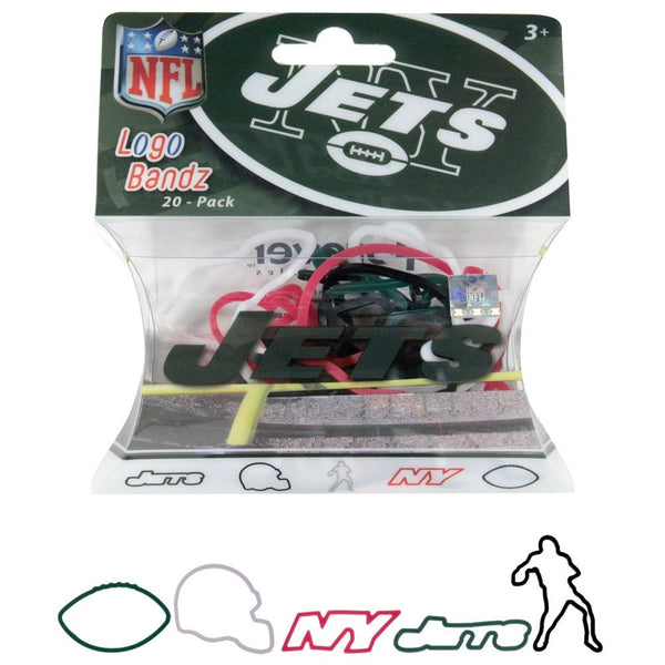 New York Jets - Icons Set Two Logo Bandz