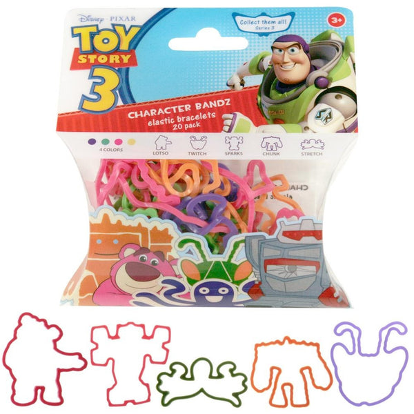 Toy Story - Characters Set Three Logo Bandz
