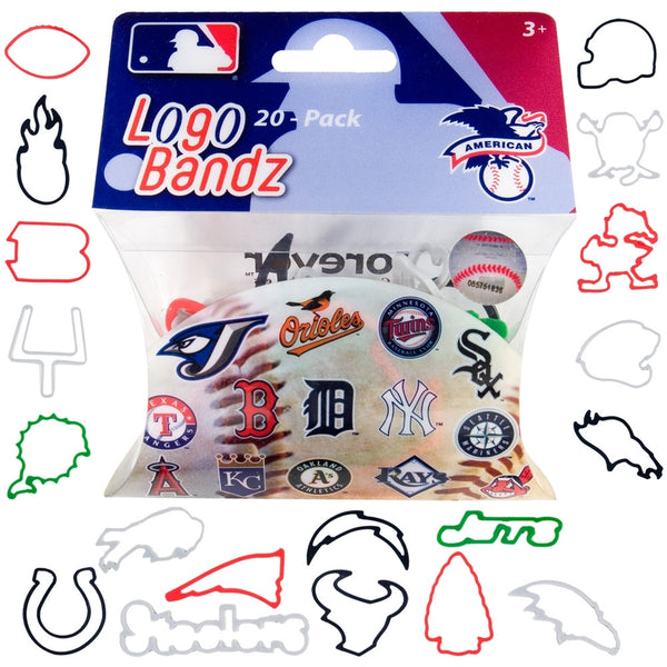 MLB - American League Teams Logo Bandz