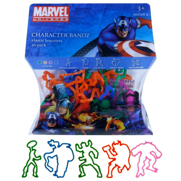 Marvel Heroes - Characters Set Two Logo Bandz