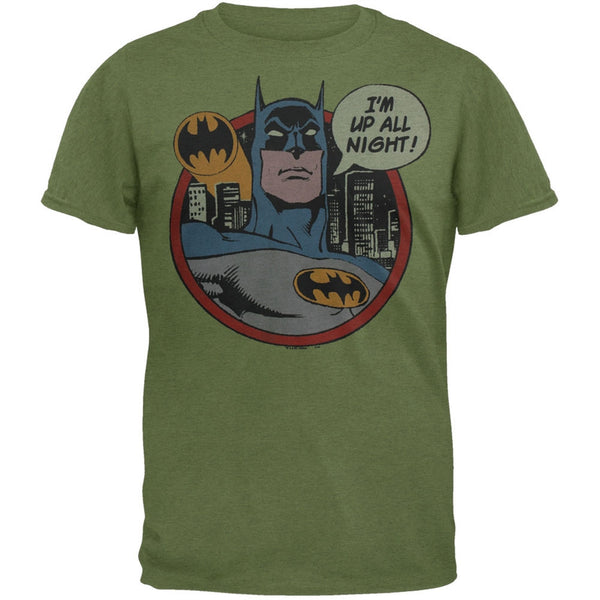 Batman - Up All Night Soft T-Shirt