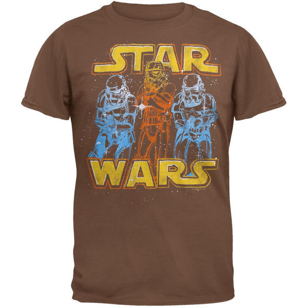 Star Wars - Laser Stormtroopers Soft T-Shirt