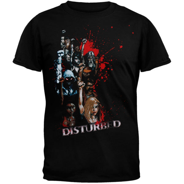 Disturbed - Mob Mentality Black Adult T-Shirt