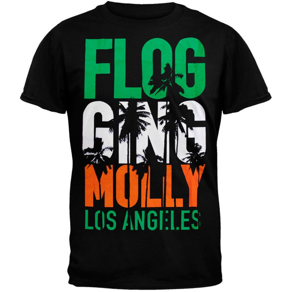 Flogging Molly - Los Angeles Adult T-Shirt