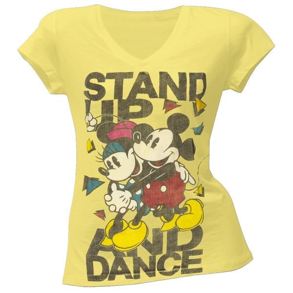 Mickey Mouse - Dance Dance Juniors  T-Shirt
