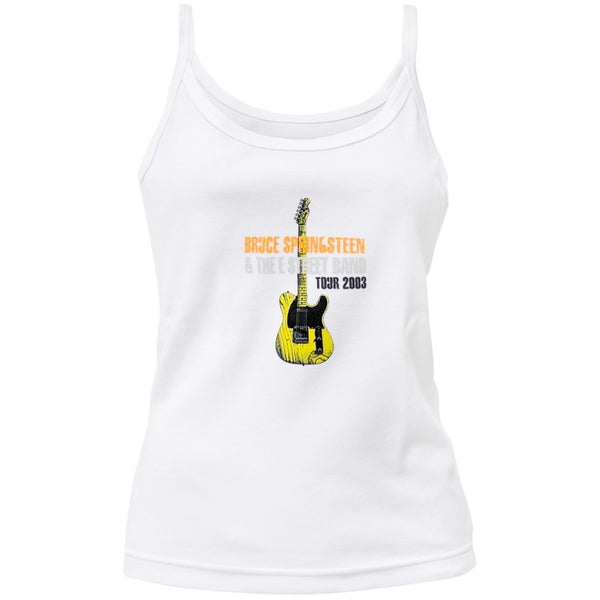 Bruce Springsteen - Guitar 03 Tour Juniors Tank Top