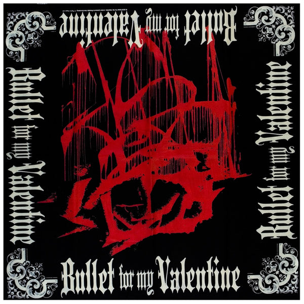 Bullet For My Valentine - Bloody Rose Bandana