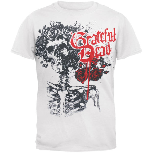 Grateful Dead - Bertha White Adult T-Shirt