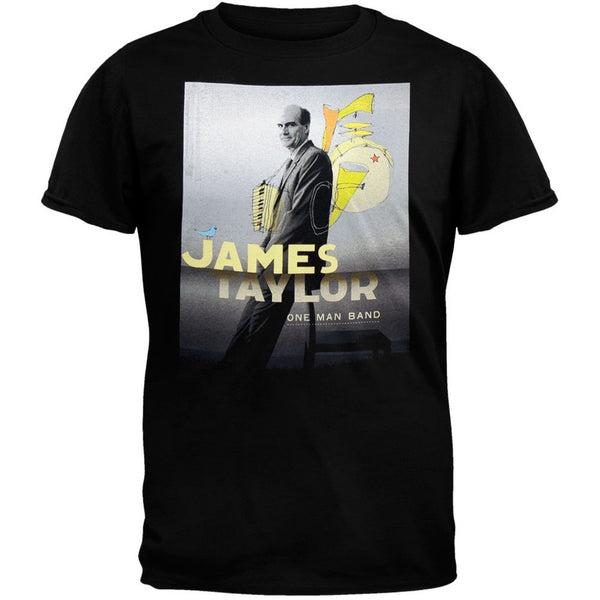 James Taylor - One Man Band 06 Tour T-Shirt