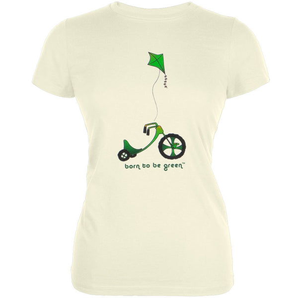 Born To Be Green - Big Wheel Organic Juniors T-Shirt