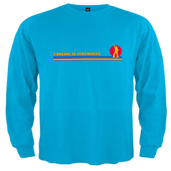 Little Hippie - Dancing Is Contagious Blue Toddler Long Sleeve T-Shirt