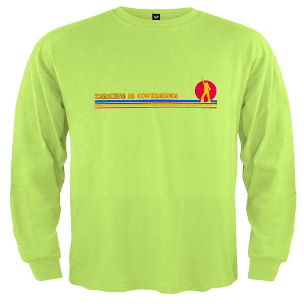 Little Hippie - Dancing Is Contagious Light Green Toddler Long Sleeve T-Shirt