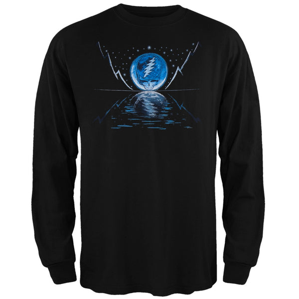 Grateful Dead - Blue Moon Black Youth Long Sleeve T-Shirt