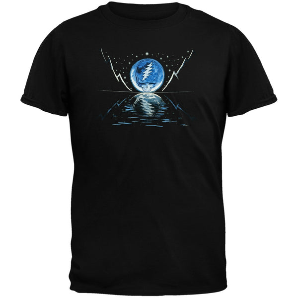 Grateful Dead - Blue Moon Black Youth T-Shirt