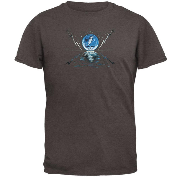 Grateful Dead - Blue Moon Grey Adult T-Shirt