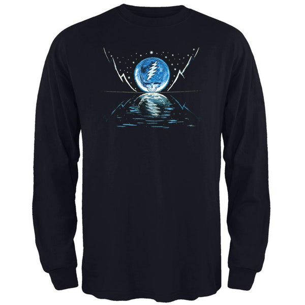 Grateful Dead - Blue Moon Navy Youth Long Sleeve T-Shirt
