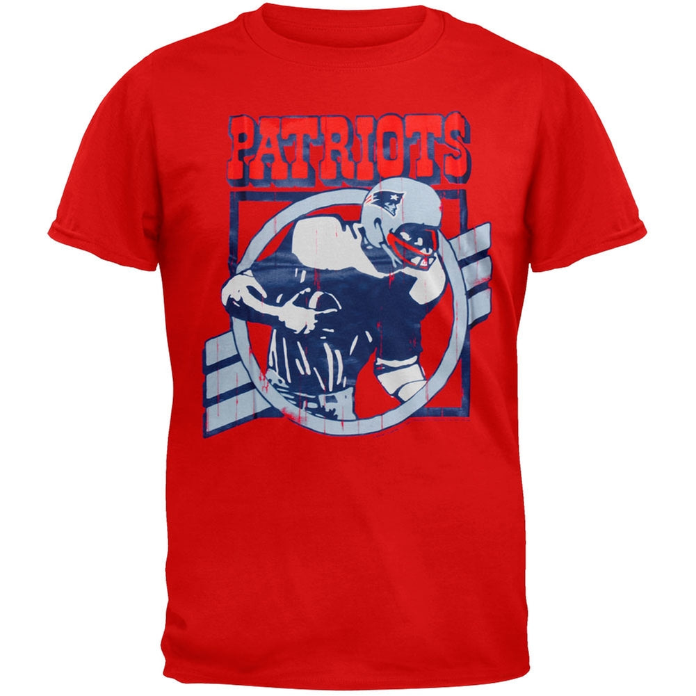 pretty nice ac0ef d2cd3 New England Patriots Vintage Logo Soft T Shirt - DREAMWORKS