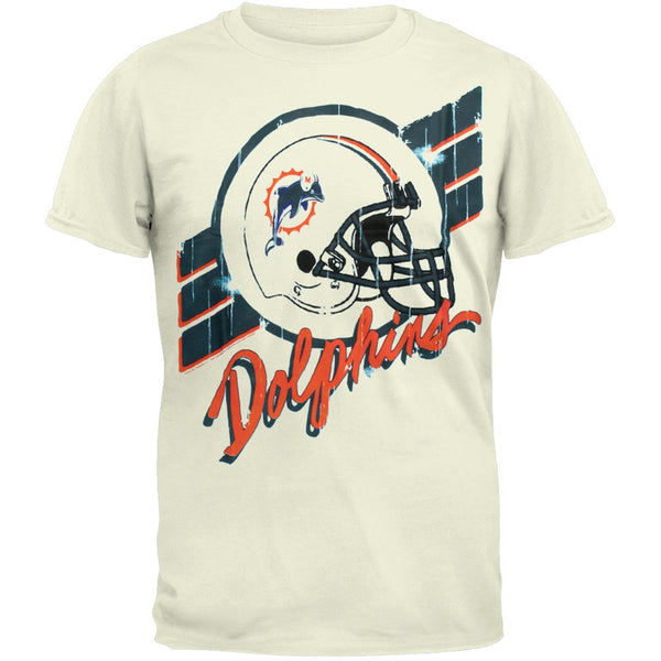Miami Dolphins - Helmet Crackle Soft T-Shirt