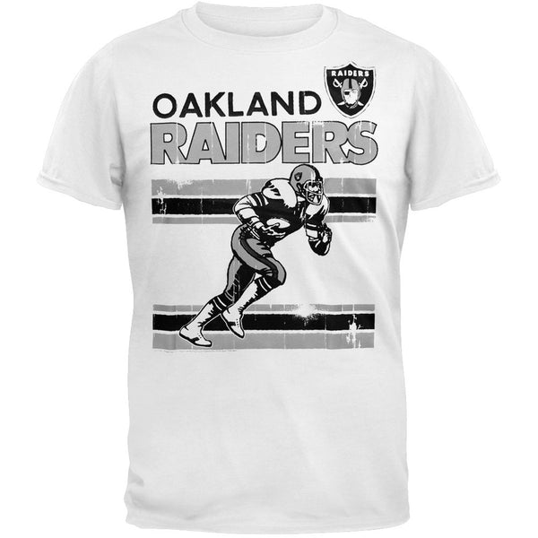 Oakland Raiders - Action Crackle Soft T-Shirt
