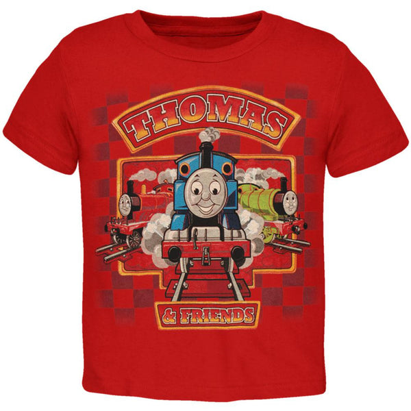Thomas and Friends - Checkered Juvy Boys T-Shirt