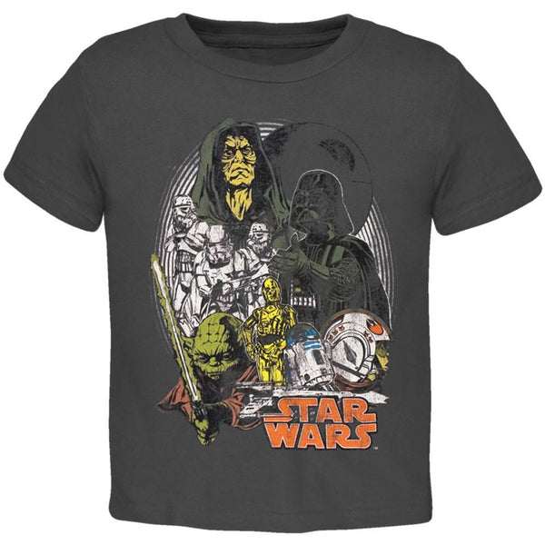 Star Wars - Group Distressed Juvy T-Shirt