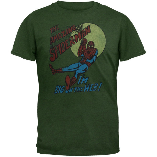 Spider-Man - Big On The Web Soft T-Shirt