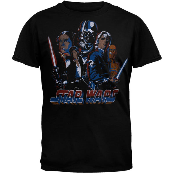 Star Wars - Retro Logo Soft T-Shirt