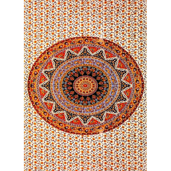 Indian Circle Tapestry