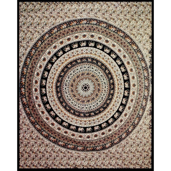 Circle Indian Tapestry