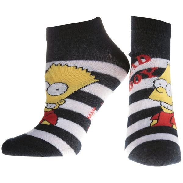 Simpsons - Bad Boy Black Socks