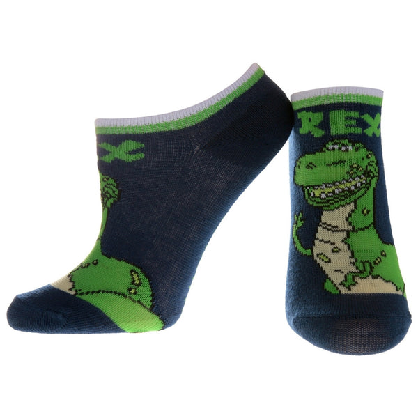 Toy Story - Rex Navy Socks