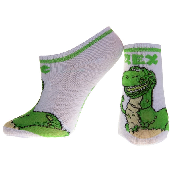 Toy Story - Rex White Socks