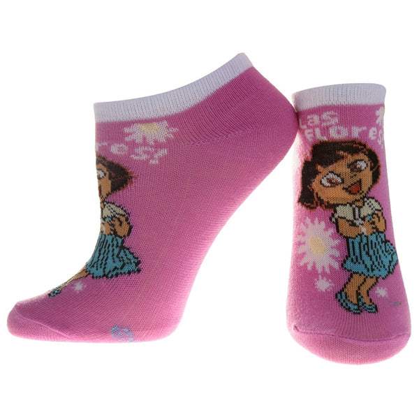 Dora The Explorer - Happy Pink Socks