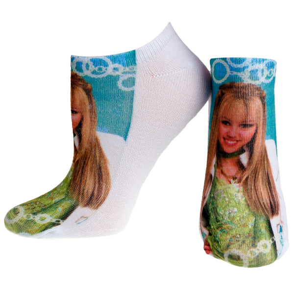 Hannah Montana - Pose White Socks