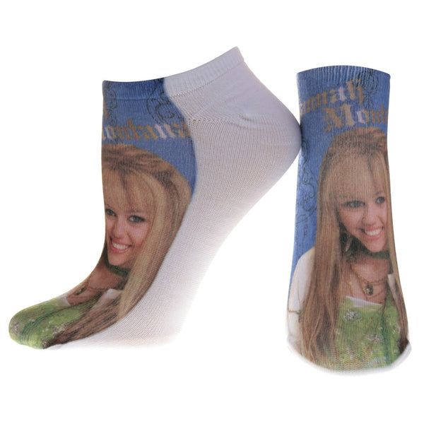 Hannah Montana - Smile Blue Socks